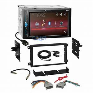 Pioneer Bluetooth Multimedia Stereo Dash Kit Harness For