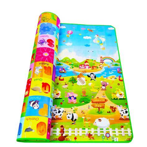 baby crawling mat 200 180cm baby crawling mat baby play mat fruit letters