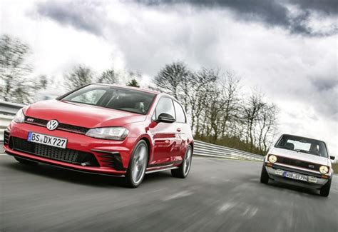 years  golf gti  generations  amazing hot hatches