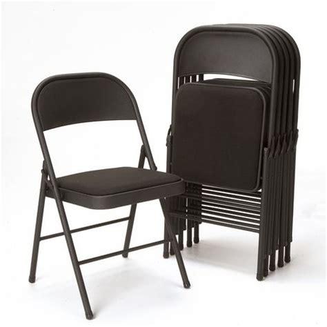 Cosco Folding Chairs Walmart by Cosco Black Folding Chair Walmart Ca