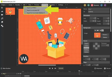 create professional web animations  htlm