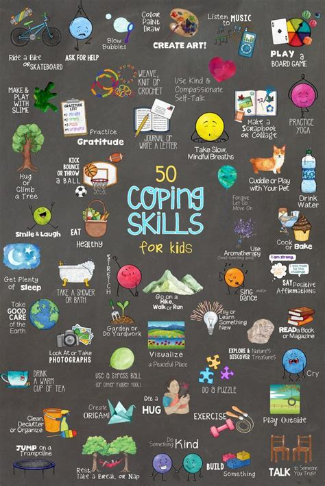 coping skills  kids fun school counseling lesson