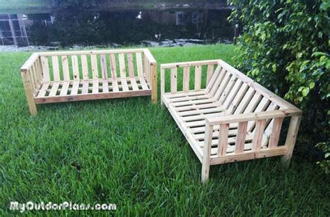 diy outdoor couch myoutdoorplans  woodworking plans  projects diy shed wooden