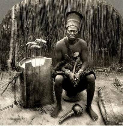 Chief African Congo Gourds Kavirondo Animated