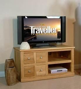 Mobel Oak 4 Drawer Tv Cabinet Mobel Oak Living Dining