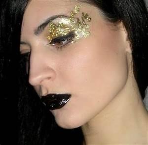 Maquillage De Fête : maquillage de f te l 39 or et le noir paperblog ~ Melissatoandfro.com Idées de Décoration