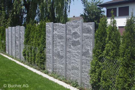 Sichtschutz Garten Granit by Stelen Stein Granit Sichtschutz Bildergalerie Bucher Ag