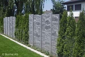 stelen stein granit sichtschutz bildergalerie bucher ag With französischer balkon mit granit waschbecken garten