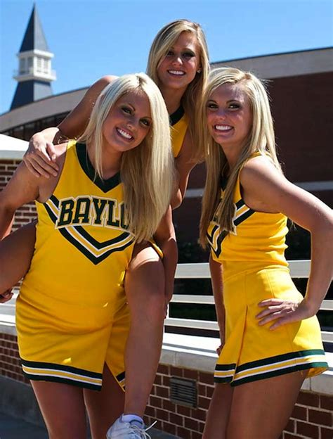Hottest College Football Cheerleading Squads Of