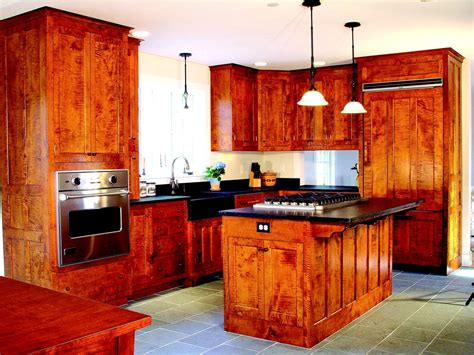tiger maple kitchen cabinets crafted shaker kitchen in tiger maple by d r dimes 6115