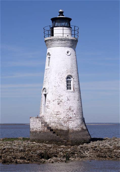 cockspur island lighthouse georgia  lighthousefriendscom