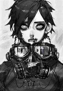 59 best Anime: Gas mask images on Pinterest