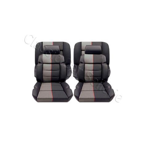 siege baquet 205 gti ensemble garnitures de sièges cuir ramier peugeot 205 gti