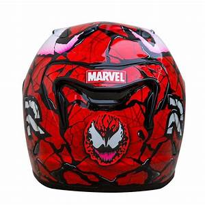 Hjc Rpha 11 Carnage Marvel Full Face Motorcycle Helmet