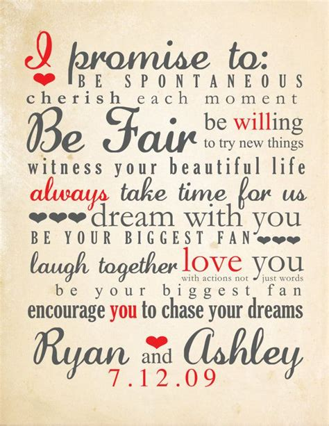 wedding vows romantic wedding vows exles for her and for him