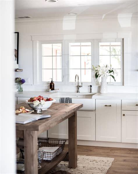farmhouse kitchen shaker cabinets our white shaker kitchen cabinets boxwood avenue