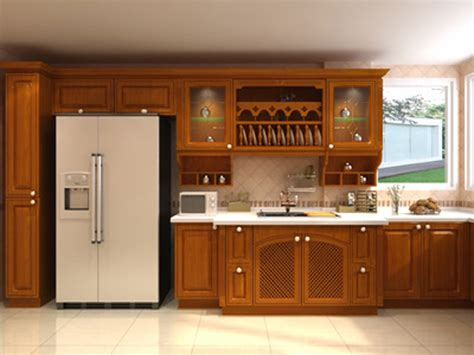 professional design solid wood kitchen cabinet kitchen