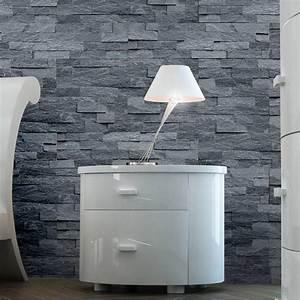 Plaque De Parement Leroy Merlin : plaquette de parement pierre naturelle noir quartzite ~ Dailycaller-alerts.com Idées de Décoration