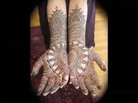 indian pakistani arabic mehndi designs youtube