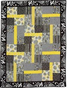 Black and Gray Quilt Block Patterns