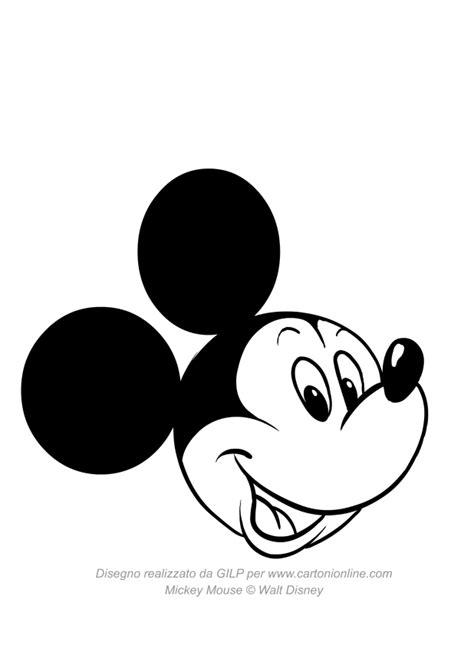 casa di topolino disegno da colorare disegno di topolino che sorride da colorare