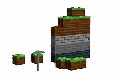 Minecraft Lego Block Blocks Concept Ideal Texture