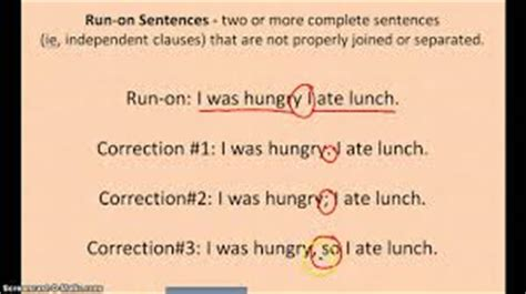 English Review Sentence Fragments And Runons  Free Homework Help