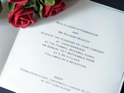 Proper Wording For Wedding Invitations Invitation Wordi