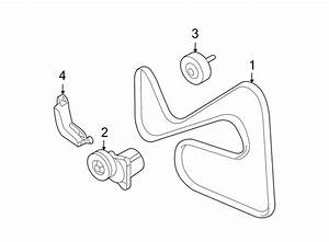 Ford Fusion Accessory Drive Belt Tensioner Assembly