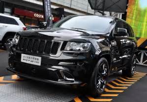 jeep grand aftermarket headlights chrysler launches jeep grand srt8 black edition