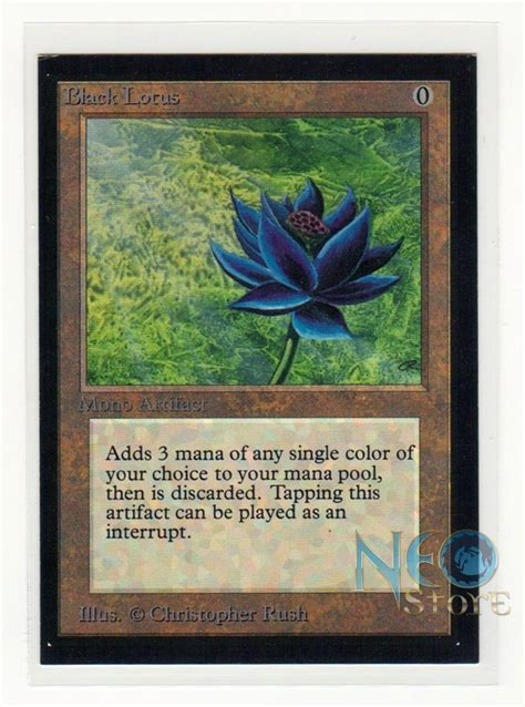 Alpha Black Lotus