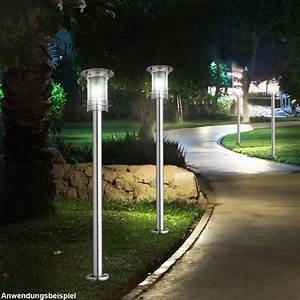 Lampen Für Garten : 2er set steh au en lampen edelstahl ip44 leuchten garten lichter weg beleuchtungen kaufen bei ~ Eleganceandgraceweddings.com Haus und Dekorationen