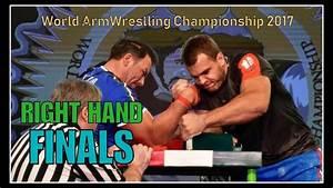 Arm Wrestling World Championship 2017  Right Hand Men Finals