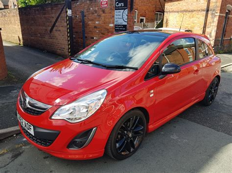 vauxhall corsa  limited edition dr  sale  crewe