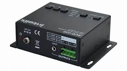 Audio Input Aud Amplifier Output Hi Ohm