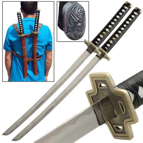 deadpool anime katana sword set swords other katana and