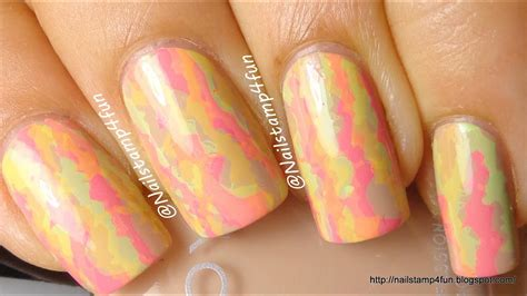 neon camouflage nails youtube