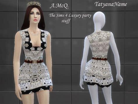 Mini Dress Knf 1374 mini dress at tatyana name 187 sims 4 updates