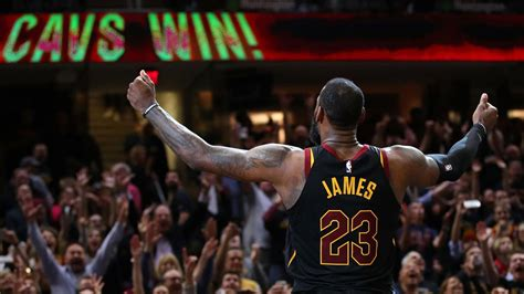 lebron james banks  game winner  cavs beat raptors