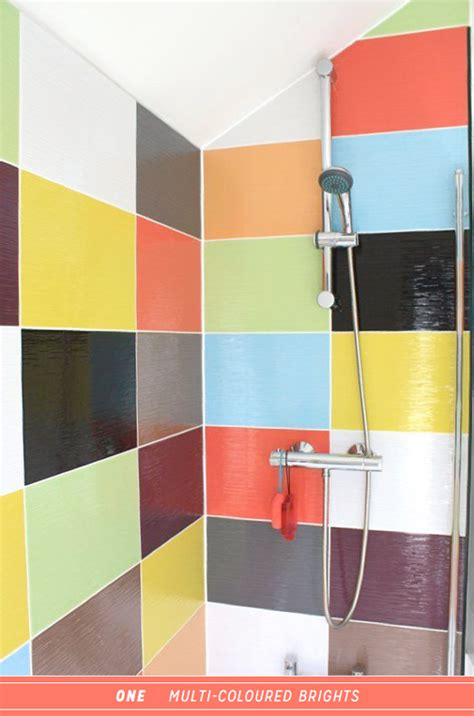 Fashion Home Interiors - three ways to colourful steam shower therapy bright bazaar by will taylor