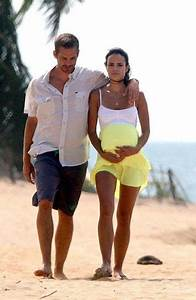 Paul William Walker IV with girlfriend Rebecca carrying ...