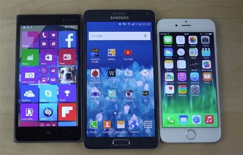 windows phone vs android windows 10 vs android lollipop vs ios 8 3 bootup and