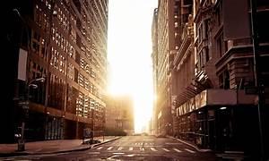 new york urban city empty street .buildings new york town ...