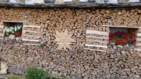 Holz Dekorativ Stapeln by Free Photo Holzstapel Edelweiss Flower Free Image On