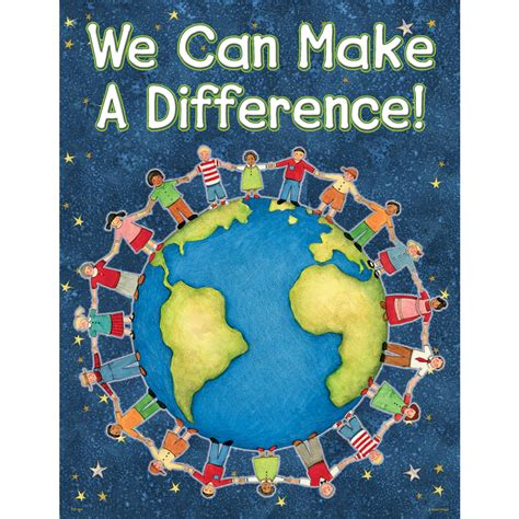 We Can Make A Difference Chart From Susan Winget Tcr7694