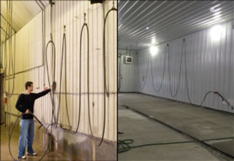 wash bay design hose management hotsy cleaning systems