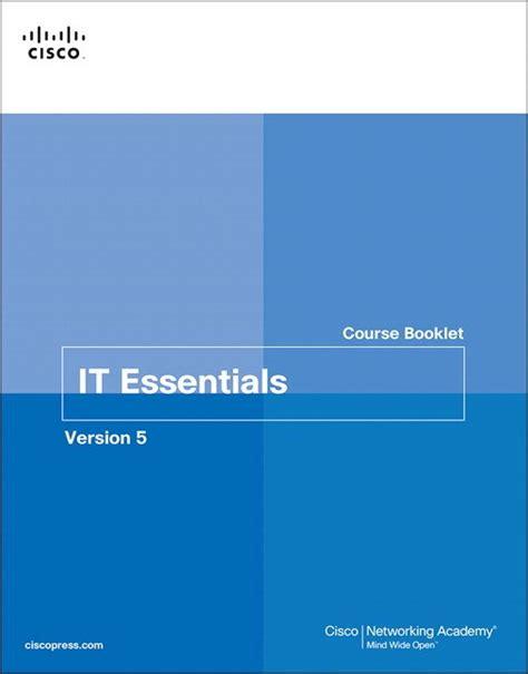 It Essentials Course Booklet Version 5