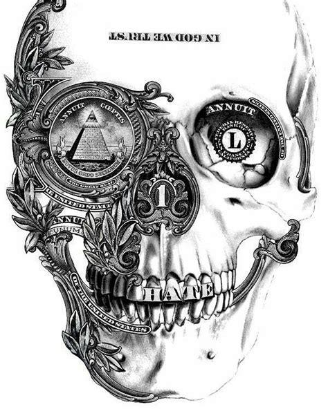 Pin by Oleg Lifshitz on tattoo | Crânes artistiques, Crânes, Idées de tatouages