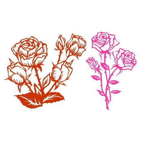 roses cuttable design