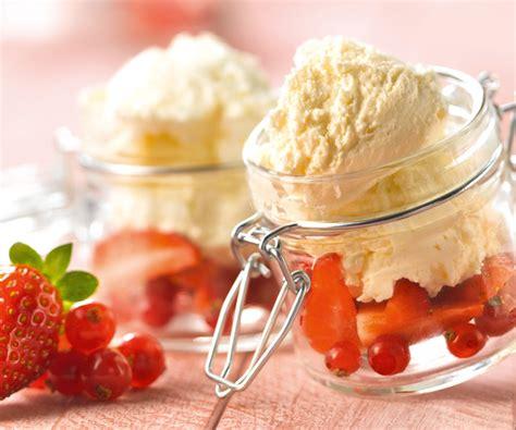 dessert rapide fontainebleau aux fruits rouges